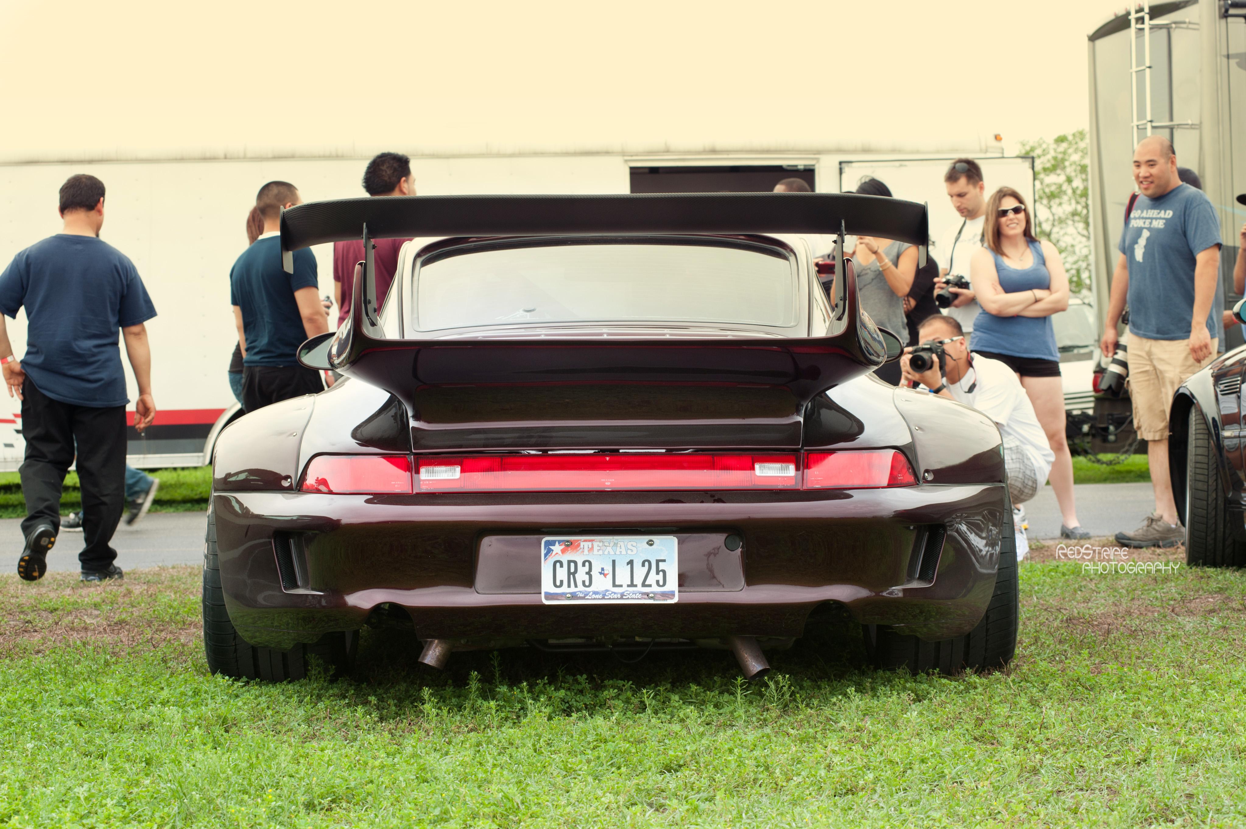 RWB Porsche | Red Stripe Photography